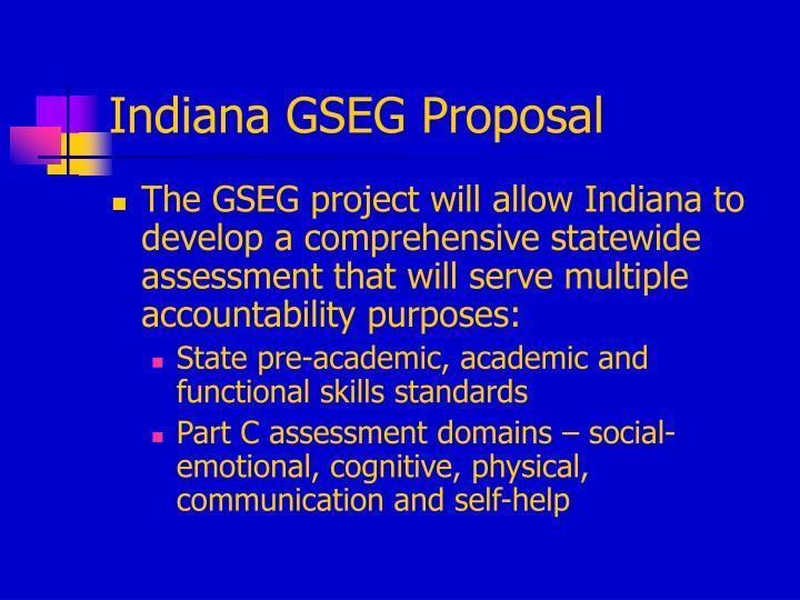 Indiana GSEG Proposal