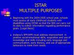 istar multiple purposes1
