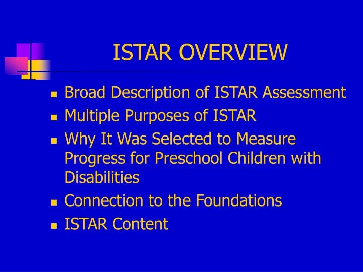 Istar overview