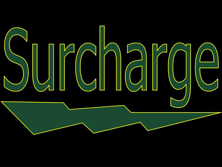 Surcharge