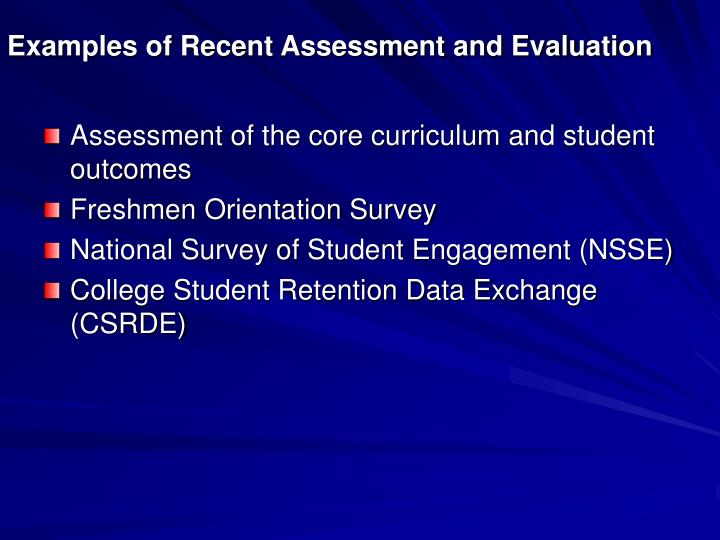 examples of assessment methods for administrative program outcomes management essay Assessment plan sample assessment plan - combined student learning and administrative focus (note: this plan is not based on an existing department at vanderbilt and was created for demonstration purposes).
