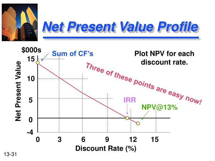 Net Present Value Profile