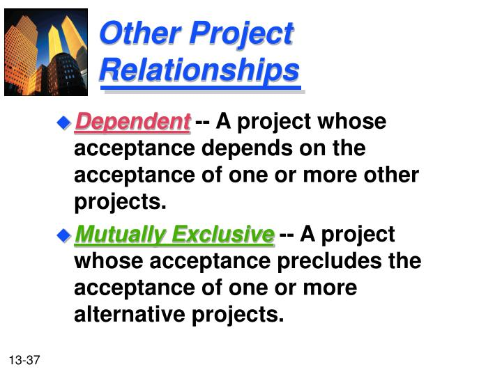 Other Project Relationships