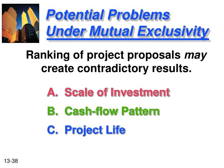 A.  Scale of Investment