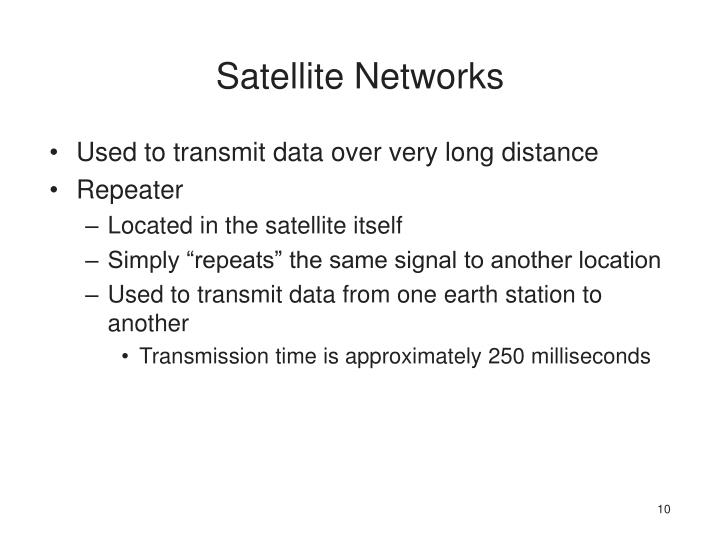 Satellite Networks