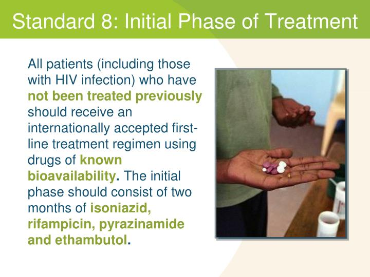Standard 8: Initial Phase of Treatment