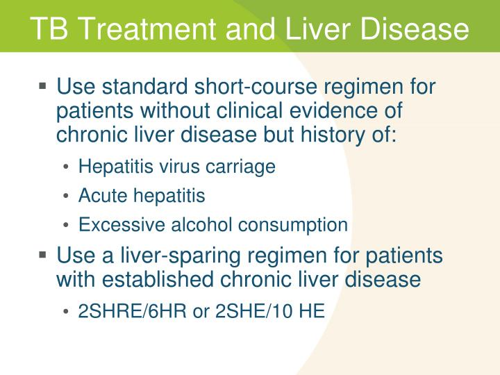 TB Treatment and Liver Disease