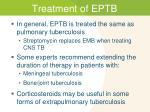 treatment of eptb