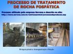 processo de tratamento de rocha fosf tica1