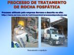 processo de tratamento de rocha fosf tica3