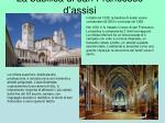 la basilica di san francesco d assisi
