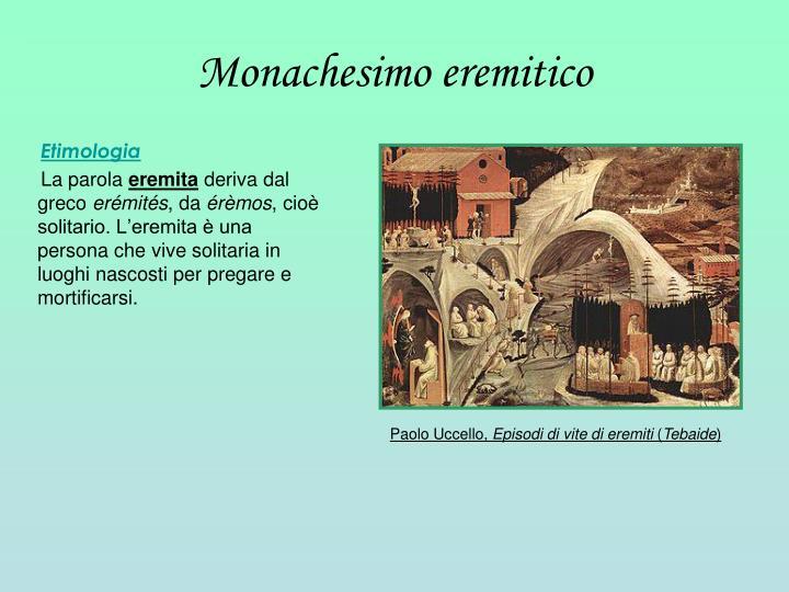 Monachesimo eremitico