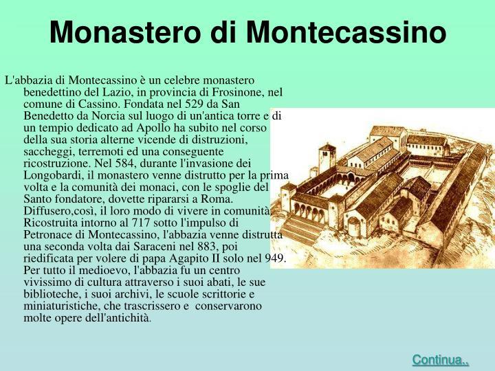 Monastero di Montecassino