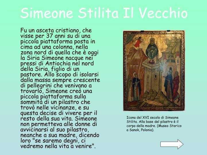 Simeone Stilita Il Vecchio