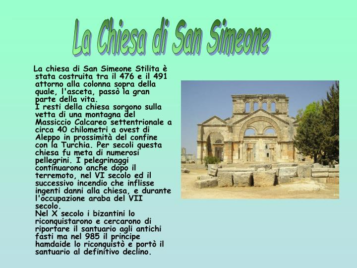 La Chiesa di San Simeone