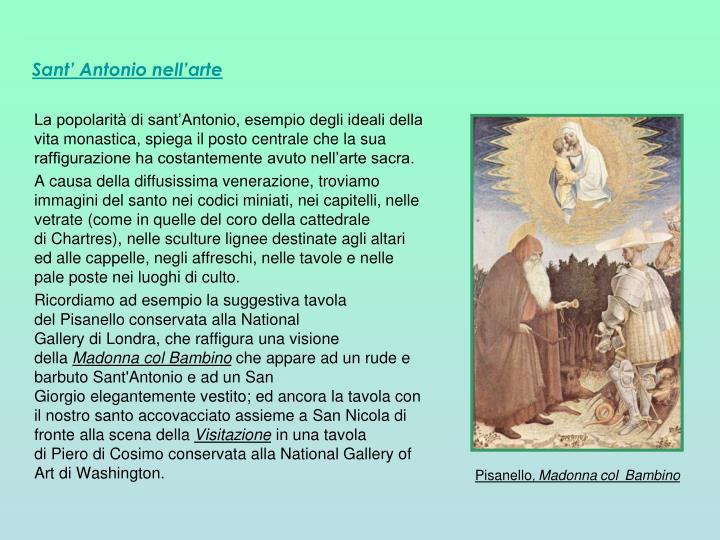 Sant' Antonio nell'arte