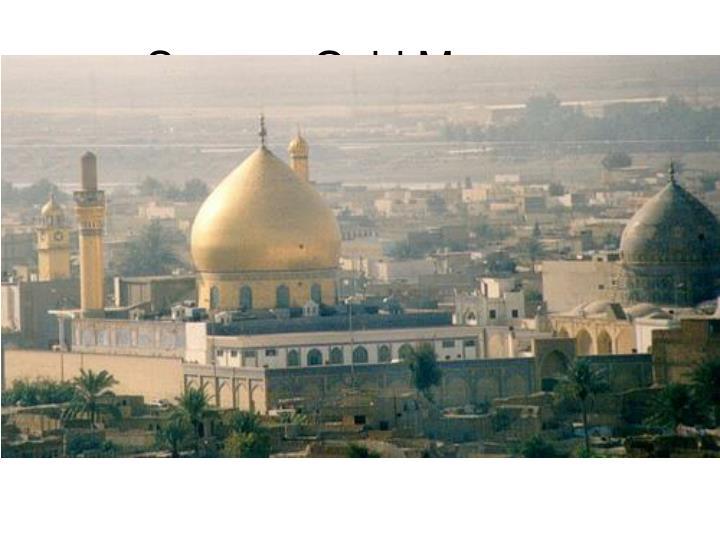 Samara Gold Mosque