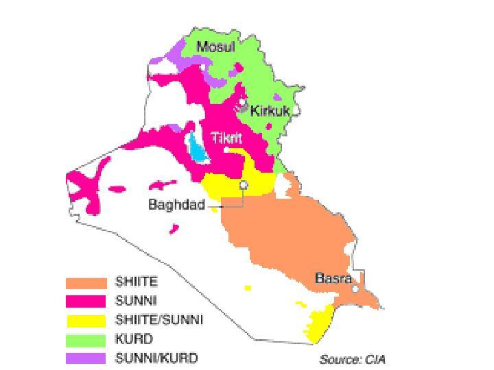 Shia-Sunni Map