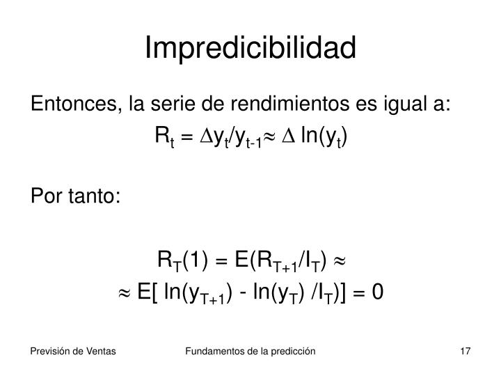Impredicibilidad