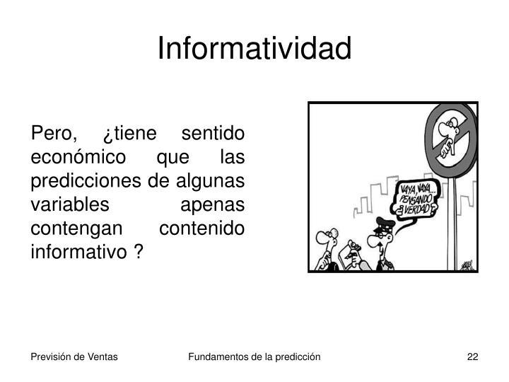 Informatividad
