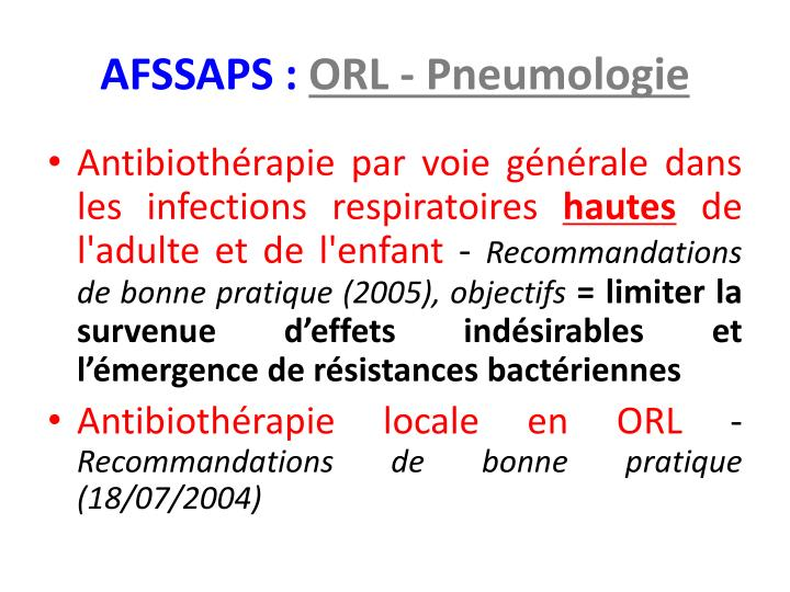AFSSAPS :