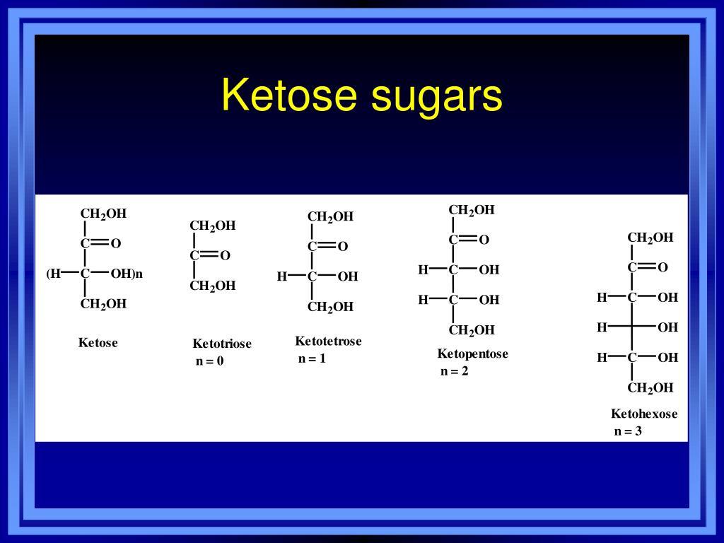 Ketose sugars