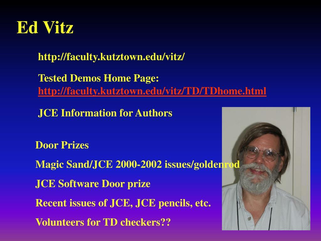 Ed Vitz