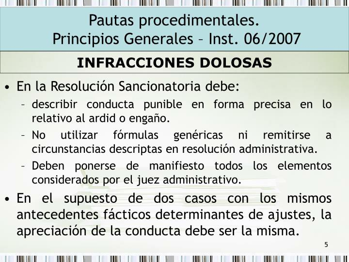 En la Resolución Sancionatoria debe: