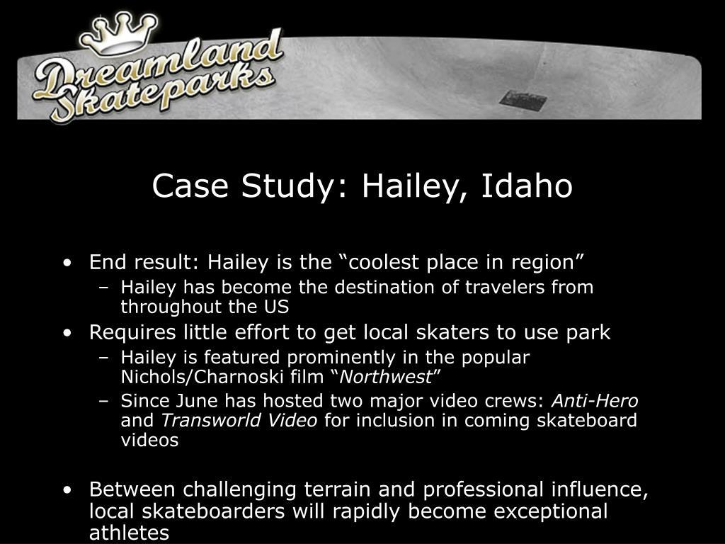 Case Study: Hailey, Idaho