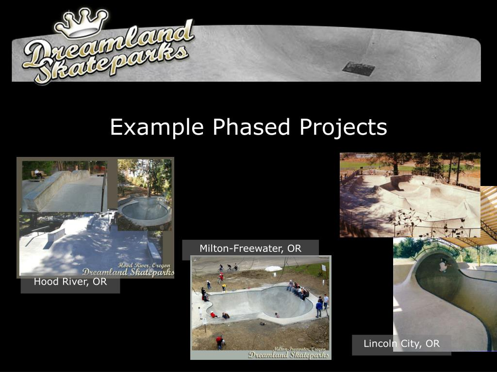 Example Phased Projects