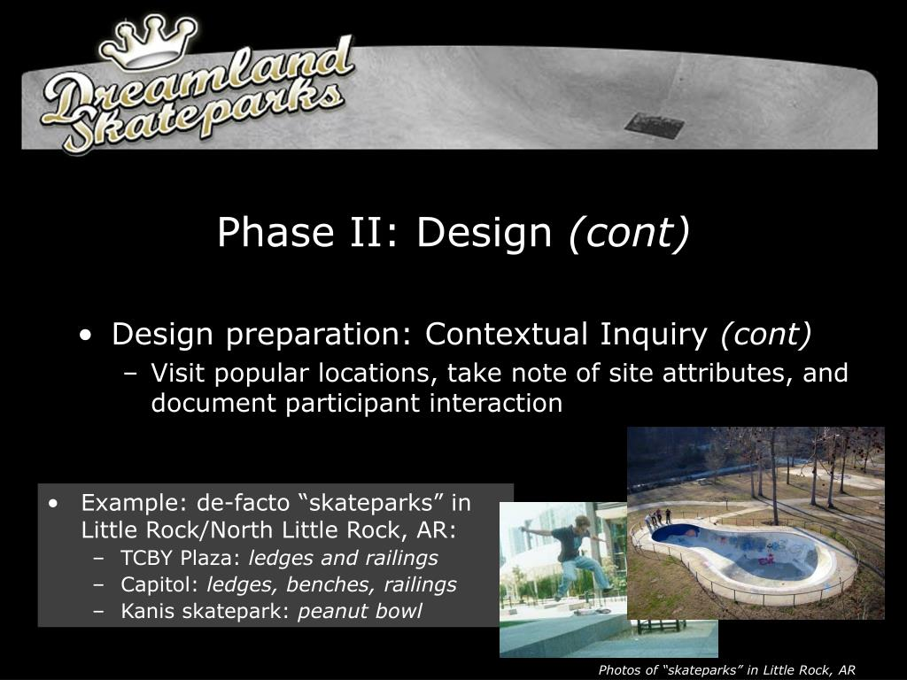 Phase II: Design