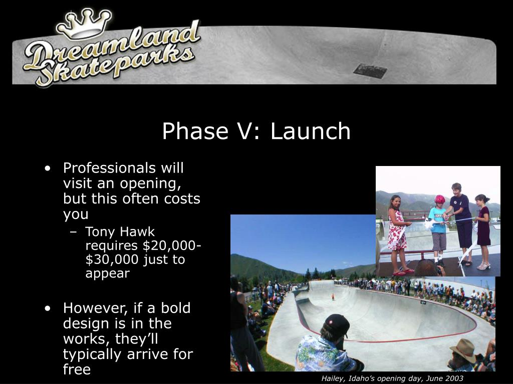 Phase V: Launch