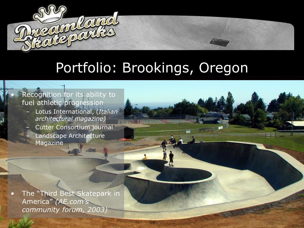 Portfolio: Brookings, Oregon