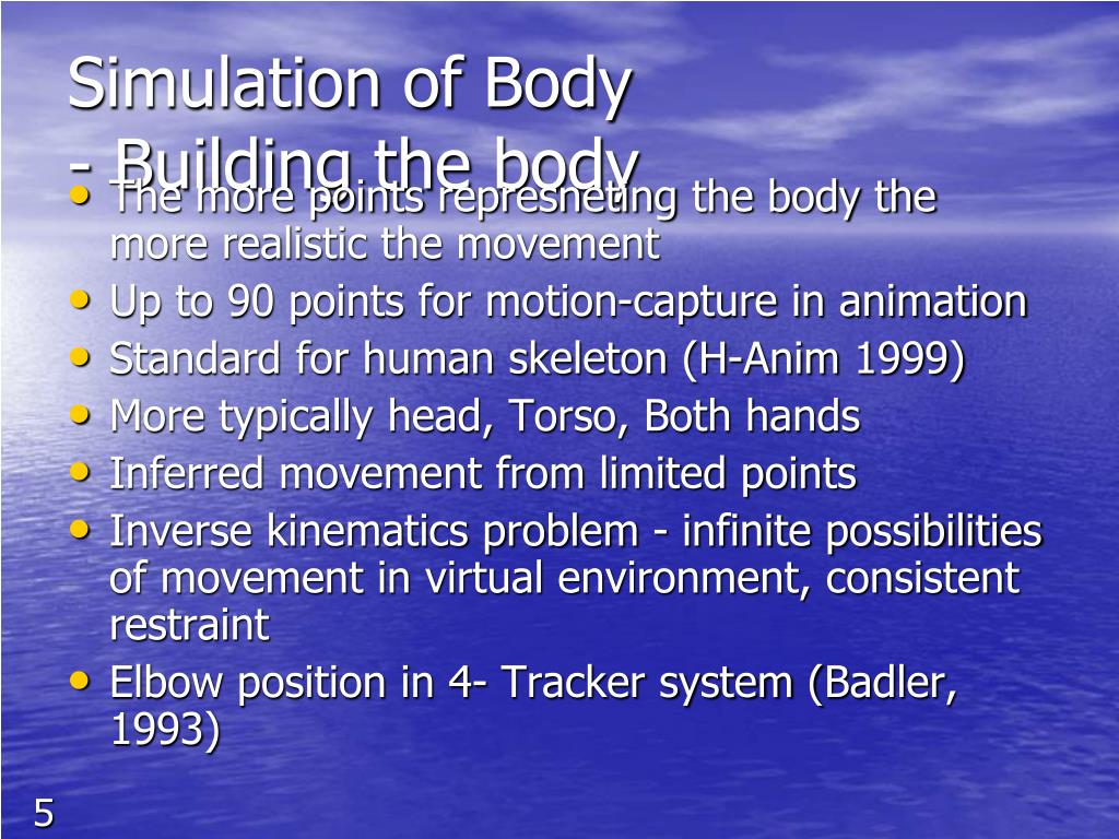 Simulation of Body