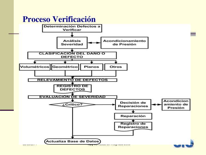 Proceso Verificación
