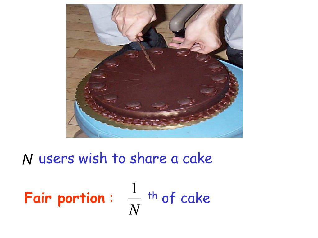 users wish to share a cake