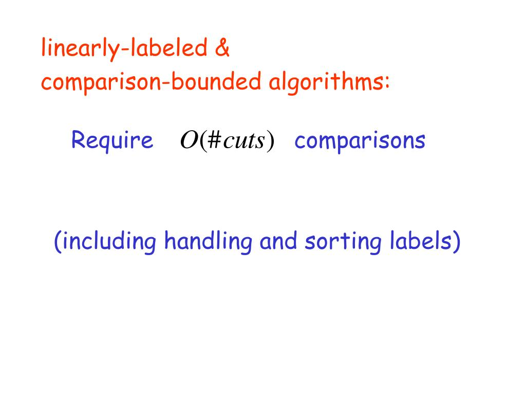 linearly-labeled &