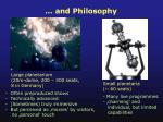 and philosophy
