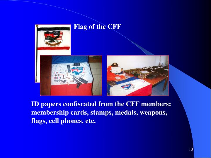 Flag of the CFF