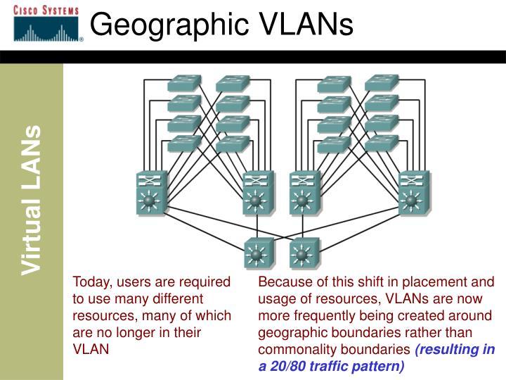 Geographic VLANs