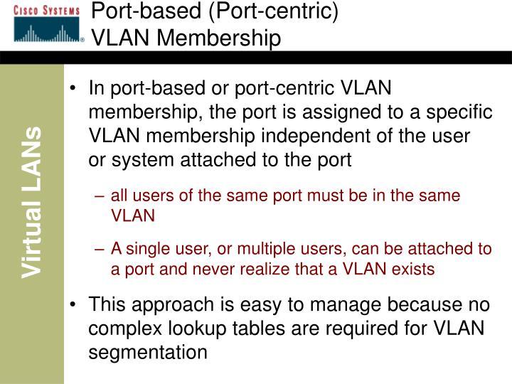 Port-based (Port-centric)