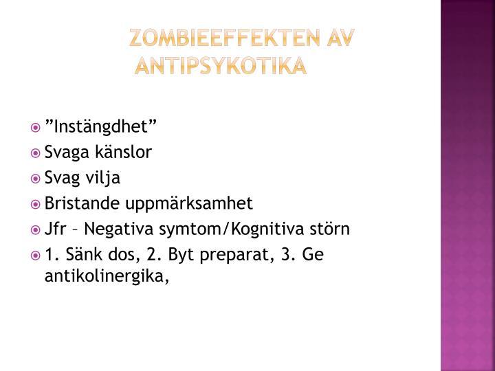 Zombieeffekten av