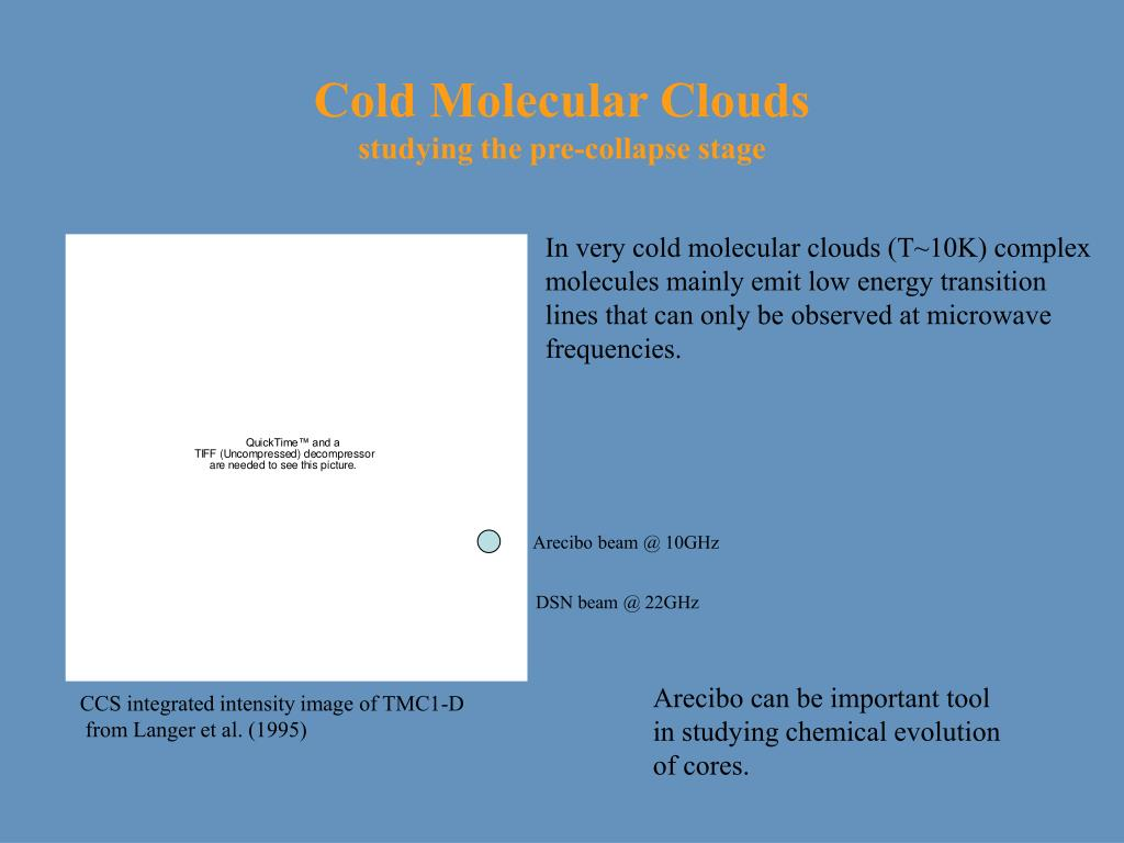 Cold Molecular Clouds