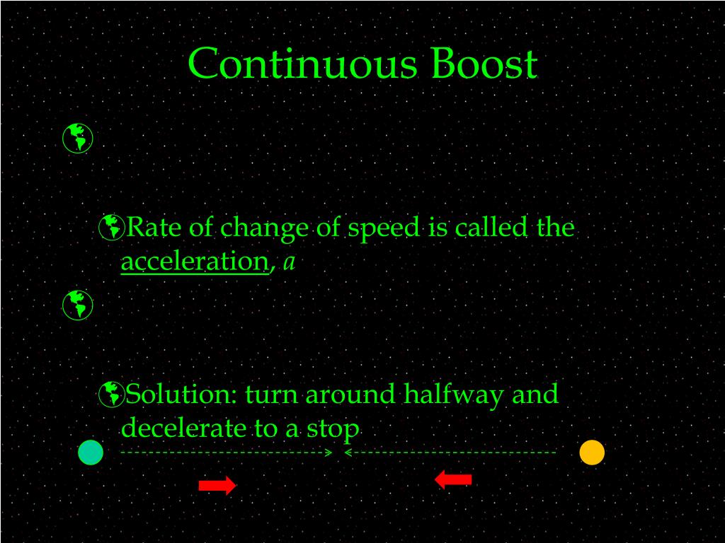 Continuous Boost