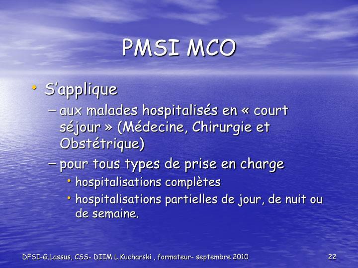 PMSI MCO