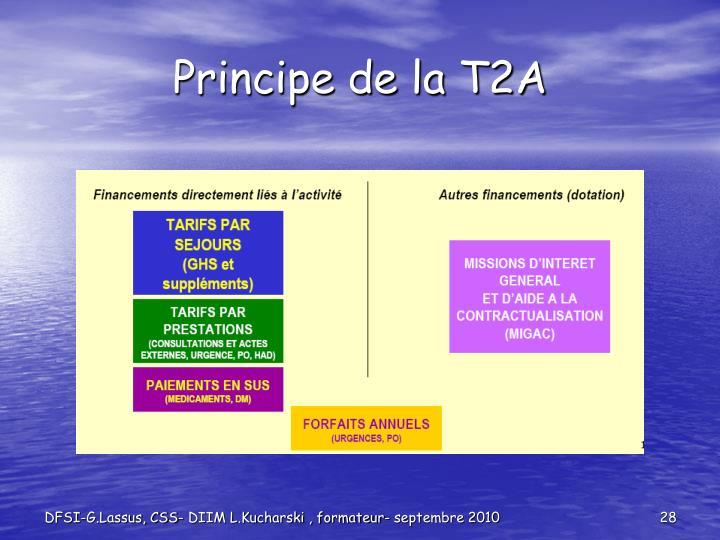 Principe de la T2A