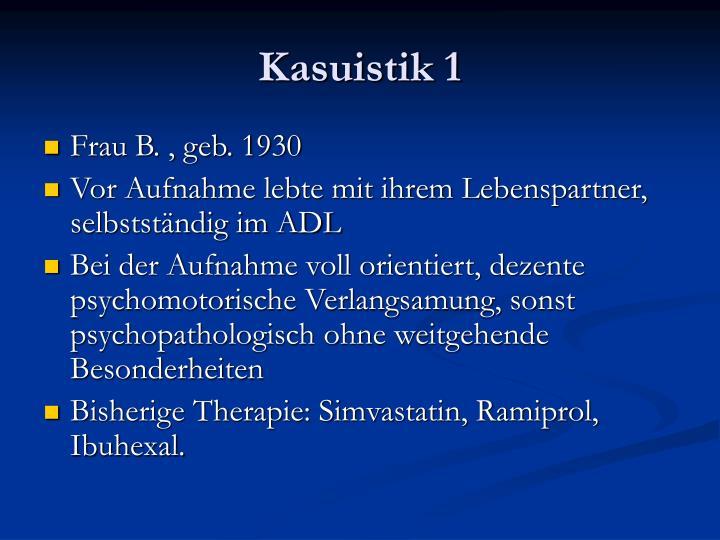Kasuistik 1