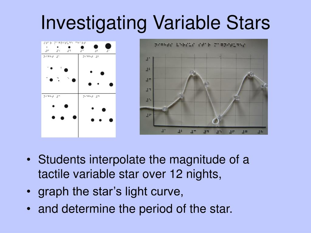 Investigating Variable Stars