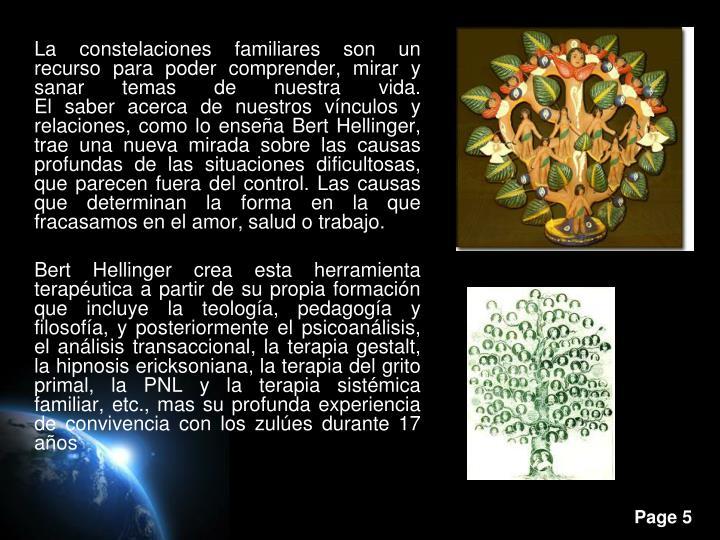La constelaciones familiares son un recurso para poder comprender, mirar y sanar temas de nuestra vida.