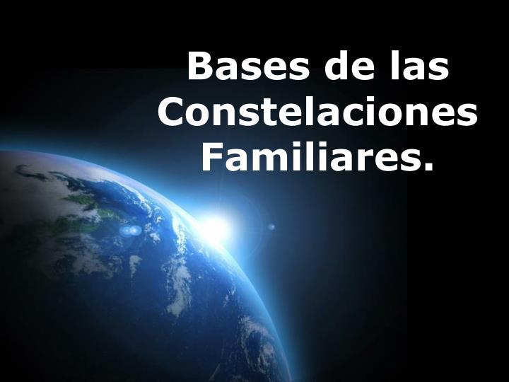 Bases de las Constelaciones Familiares.